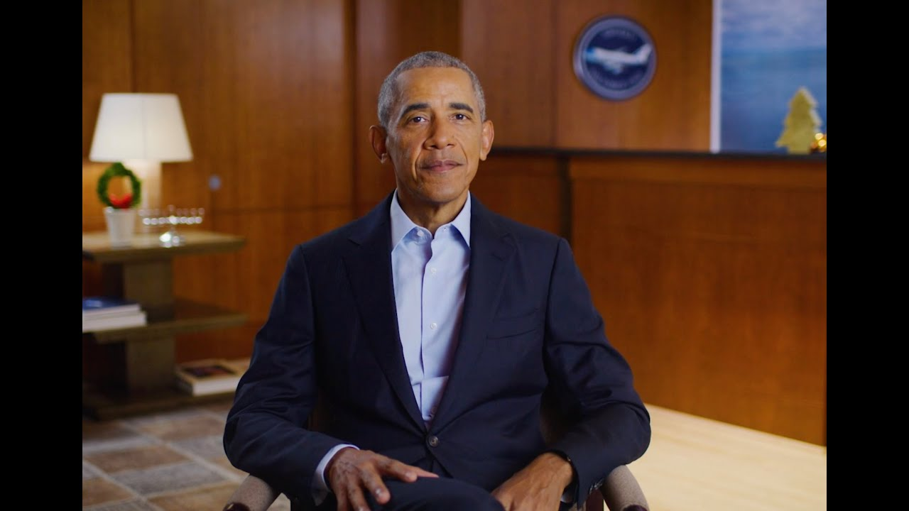 A hopeful holiday message from President Obama