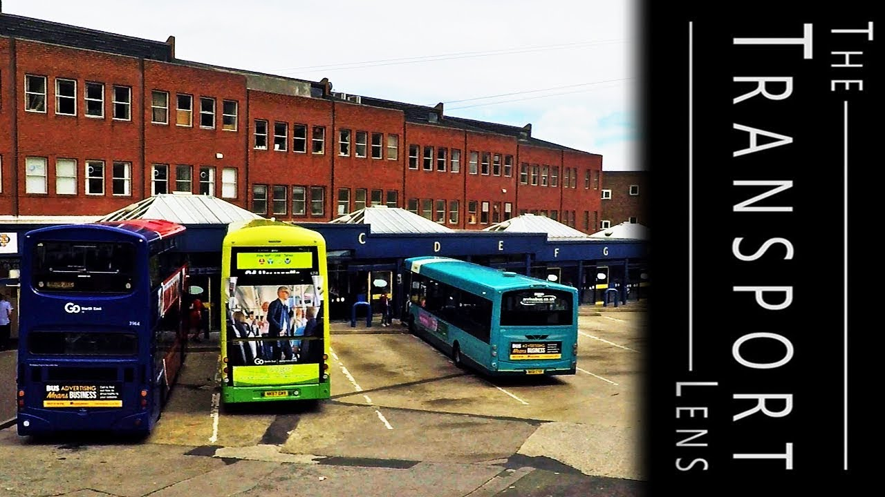 Buses At Durham Bus Station June 2018 Time Lapse Youtube