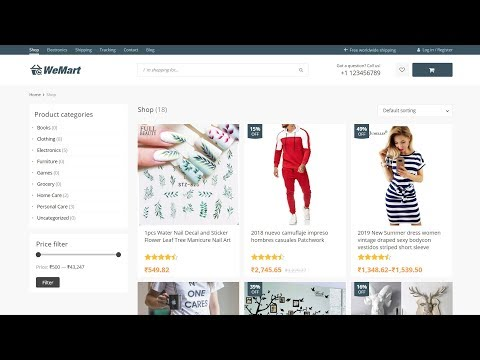 How To Make An Ecommerce Website With WordPress Free Theme