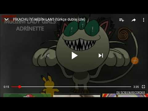 Pikachu iyi misin lan izledim (komik)