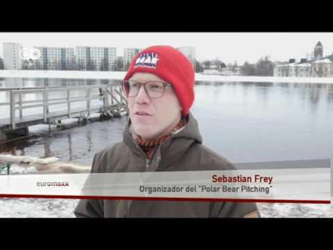 La presentación más fría del mundo | Euromaxx