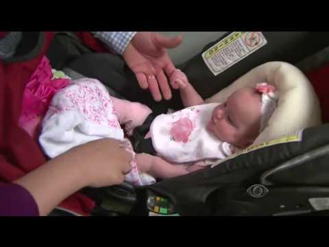 Menina nasce duas vezes nos Estados Unidos