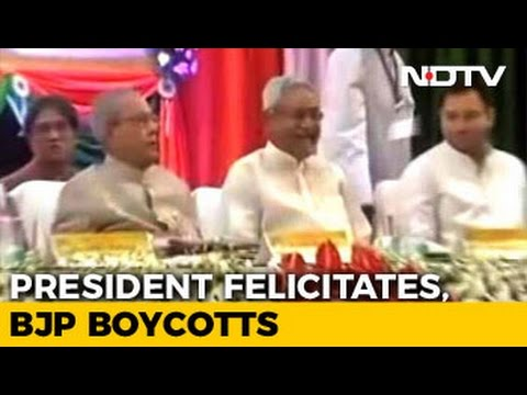 As President Honoured Freedom Fighters, A Boycott By BJP. Here's Why