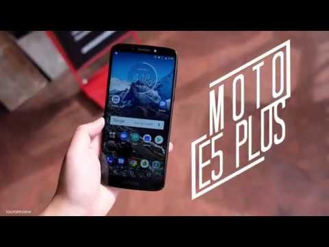 [ รีวิว Moto E5 Plus ] จอ 6 นิ้ว แบต 5,000 mAh ใครบอกว่าต้องแพง? - วันที่ 24 Jul 2018