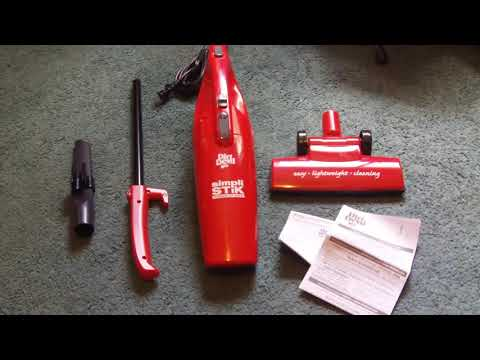 Dirt Devil's 3 in 1 Simpli Stik Review + Unboxing!