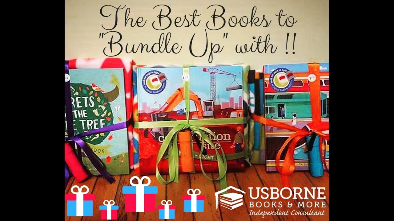 great gifts to bundle up with usborne books youtube