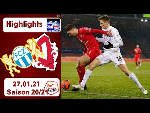 Download Highlights: FC Zürich vs FC Vaduz (27.01.21)