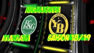Highlights Fc St.Gallen vs BSC Young Boys (11.11.18)