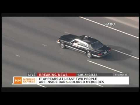 Los Angeles Car Chase 101 Freeway California Highway Patrol (September 28, 2012)