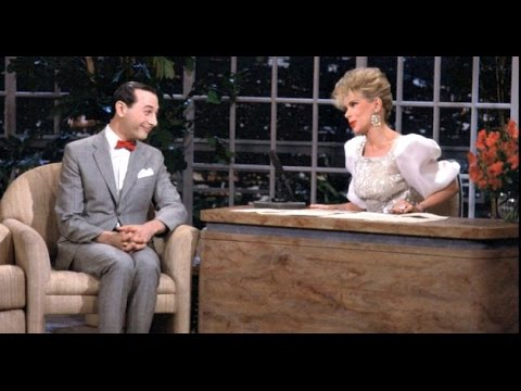 The Late  Starring Joan Rivers  Pee Wee Herman 1987