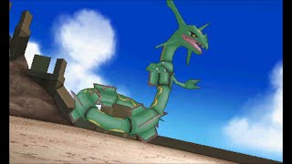 Pokemon Omega Ruby/Alpha Sapphire - Catching Rayquaza (battle and cutscene)