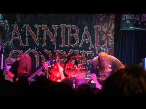 Cannibal Corpse @ Metro Opera House - Oakland - Dormant Bodies Bursting - 17/05/2013