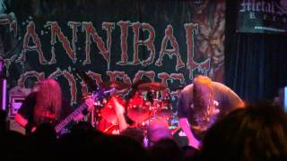 Cannibal Corpse @ Metro Opera House - Oakland - Dormant Bodies Bursting - 17/05/2013