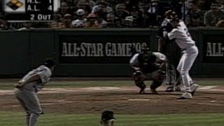 1999 ASG: Derek Jeter mimics Nomar's batting routine