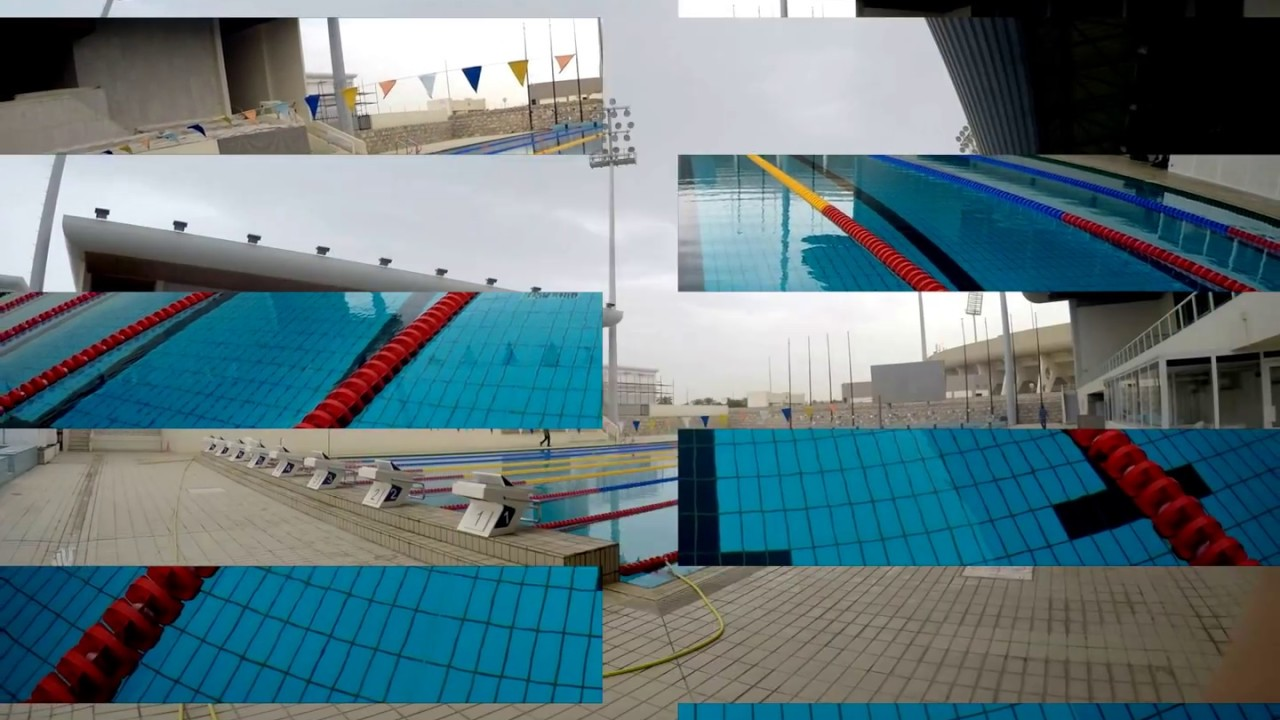 Sultan Qaboos Sports Complex Swimming Pool 50m Youtube