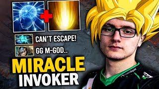 EPIC GAME Miracle- Invoker GOD-MODE Show His BEST SIGNATURE Hero | Dota 2 Invoker