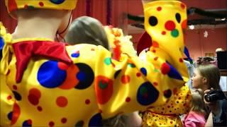 Шуточное появление деда Мороза на новогоднем утреннике в детском саду