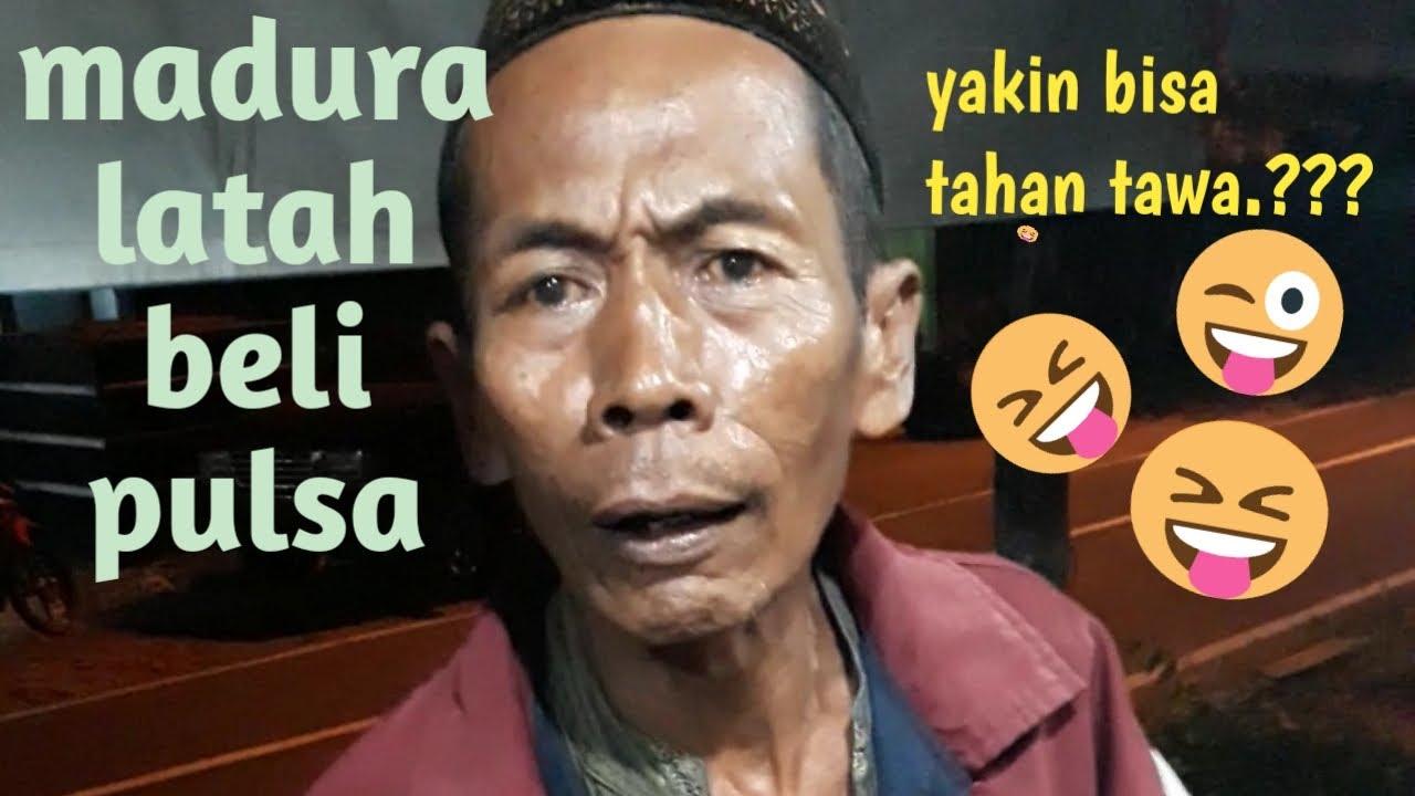 Dilarang Ketawa Orang Latah Beli Pulsa Bahasa Madura Lucu Youtube