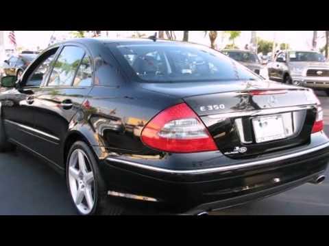 2009 Mercedes Benz E Class E350 4matic Youtube