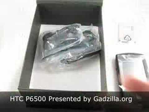 HTC P6500 Unboxing