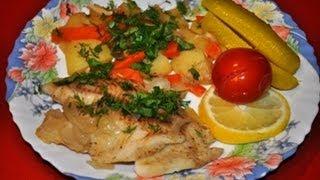 Как приготовить рыбу с картошкой в мультиварке