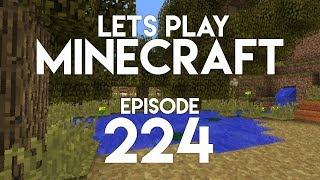 ►let's play minecraft: hidden meadow oasis! (episode 224)◄