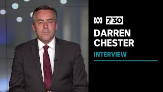 Nationals MP Darren Chester on his party's decision to support net zero by 2050 | 7.30