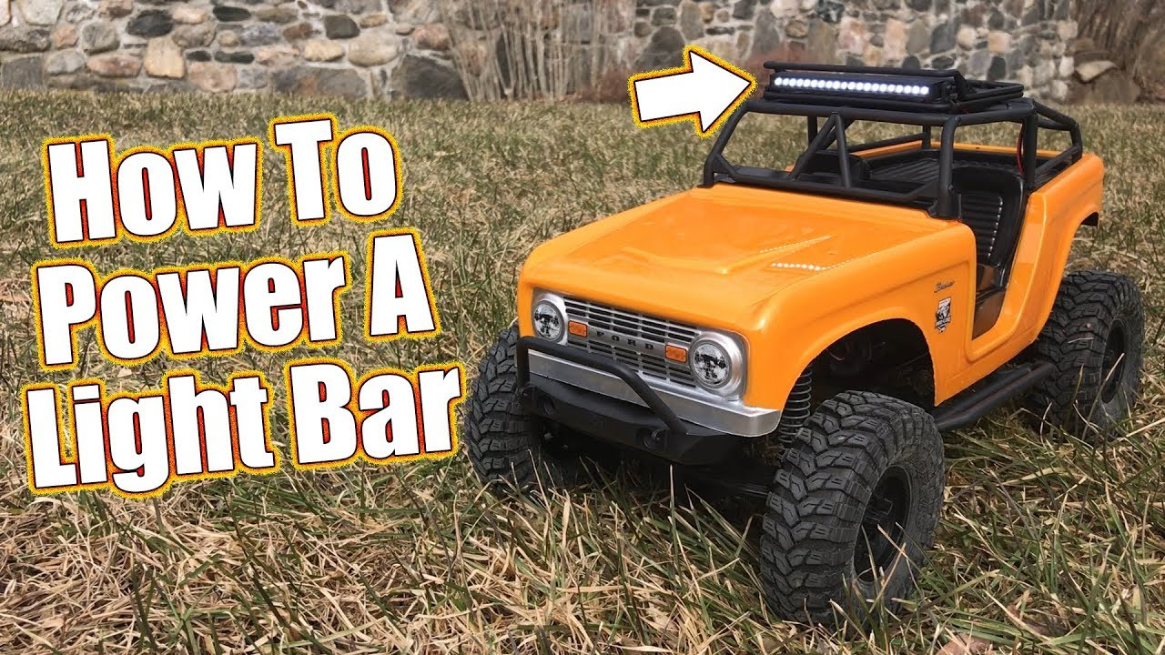 Tips For Adding Lights Detail To Your Rc Pro Line Led Light Bar Wiring Navigation Roof Rack Install Driver
