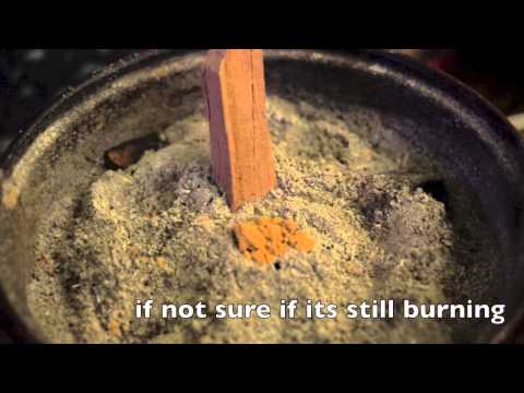 Sandalwood burning method 2