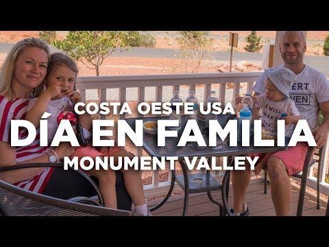 Día familiar y Alojamiento Monument Valley. Costa Oeste USA