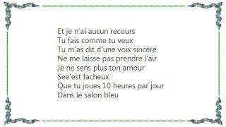 Coralie Clément - Je Ne Sens Plus Ton Amour Lyrics