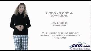 Ski Pants - Ski Pant basics