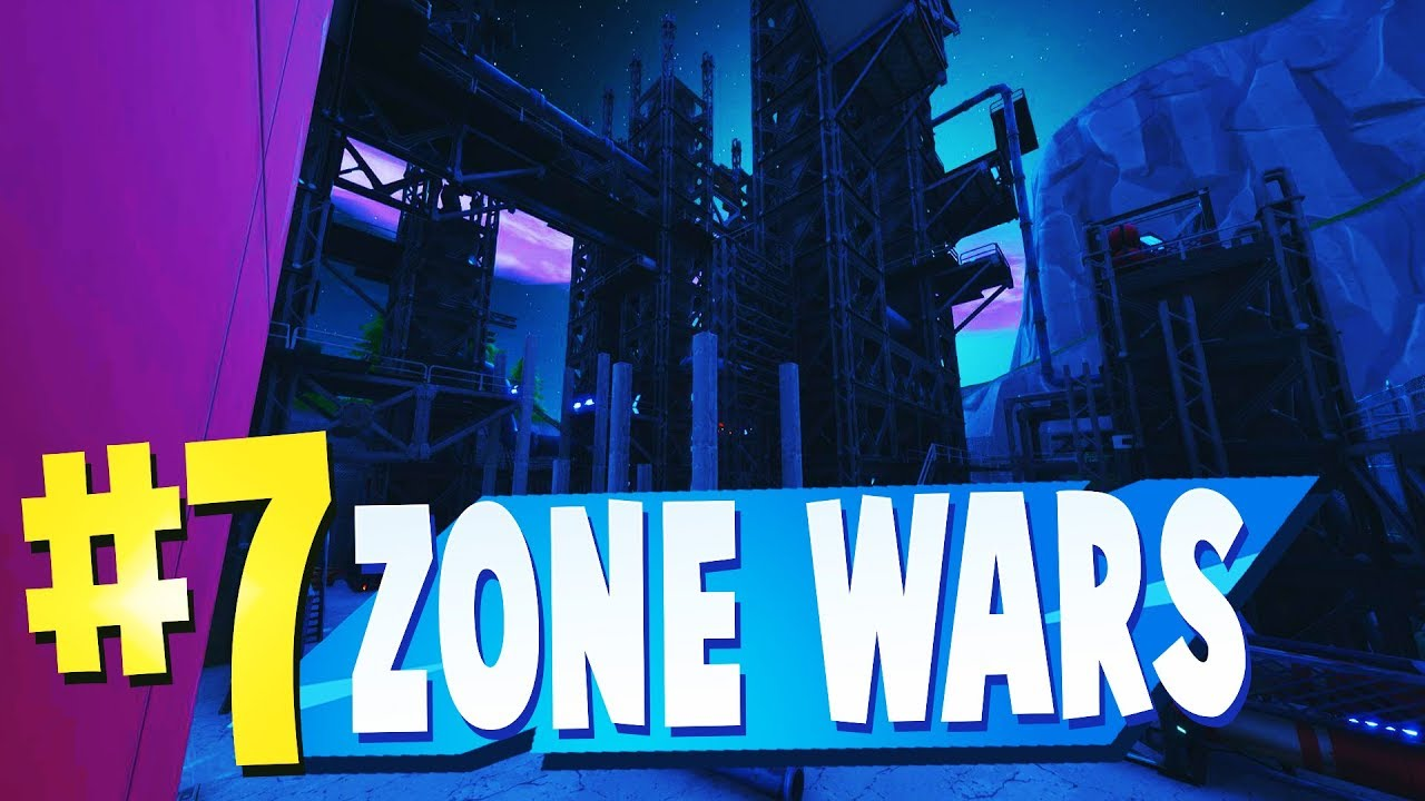 TOP 7 Best ZONE WARS Creative MAPS In Fortnite | AUTOMATED MOVING ZONES and  SCRIM MAP CODES