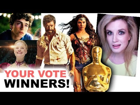 Oscars 2018 Winners - Audience Vote