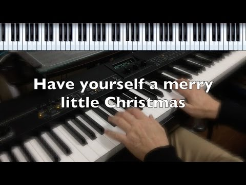 have yourself a merry little christmas jazz piano pdf