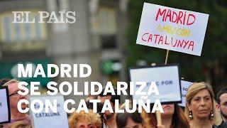 Manifestación en Madrid en solidaridad con las víctimas de Barcelona y Cambrils   España