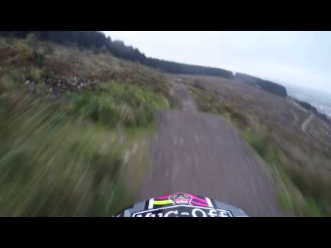 Big Mountain Bike Crash A470 Pro Line Bikepark wales