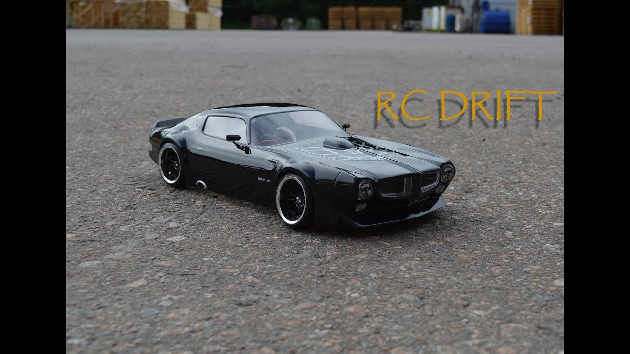 rc pontiac trans am 1971 drift youtube