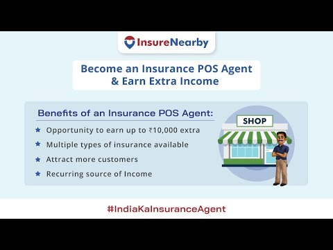 Become an Insurance POS (Point Of Sale) Agent with InsureNearby & Earn Extra Income