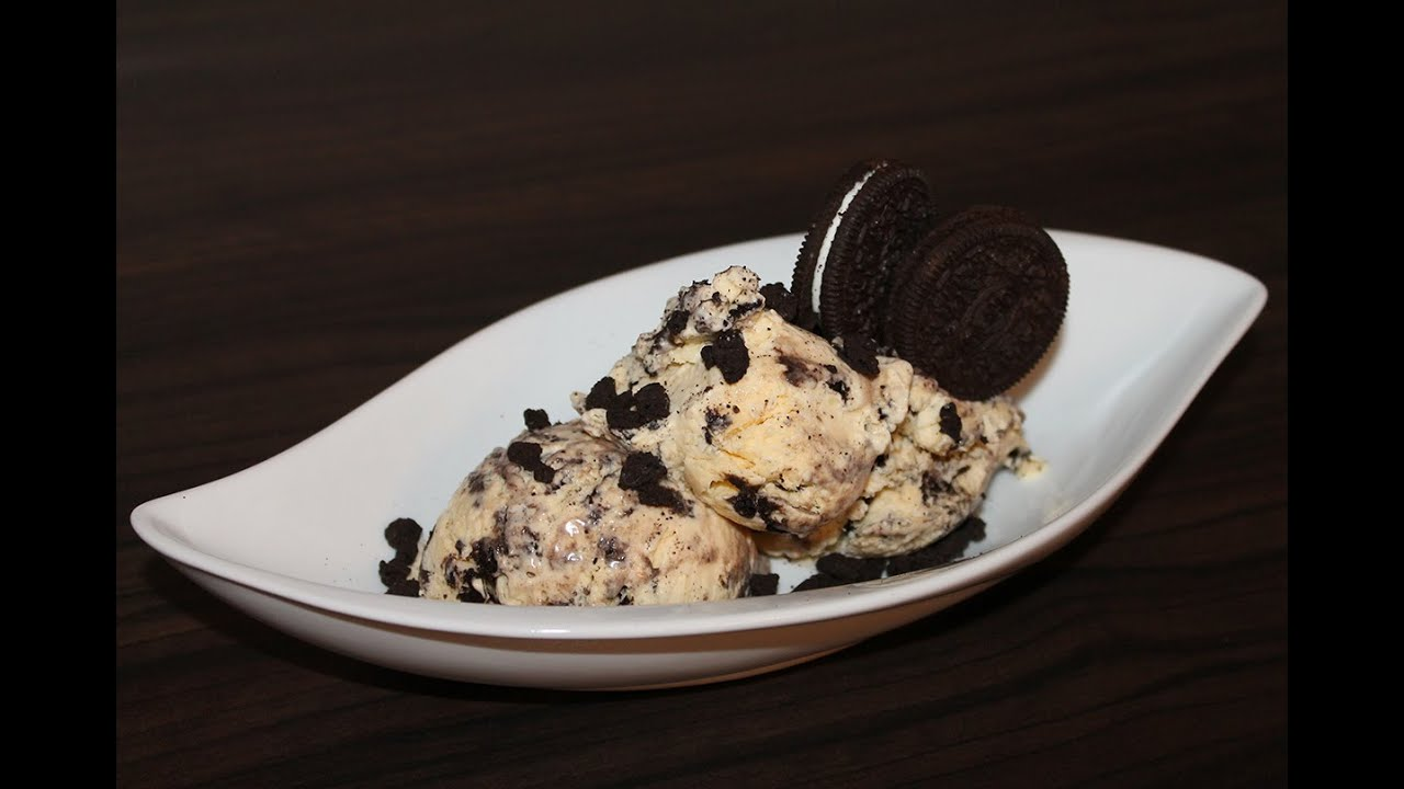 how to make oreo ice cream oreo eis selber machen youtube. Black Bedroom Furniture Sets. Home Design Ideas