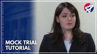 Ohio High School Mock Trial Video Tutorial
