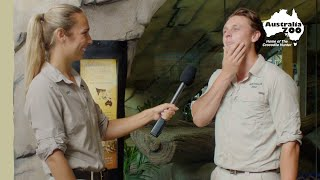 Australia Zoo keepers answer s…