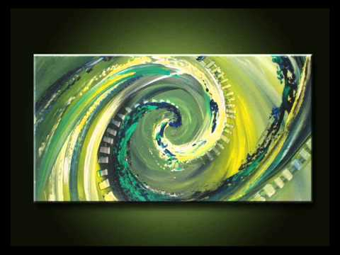 acrylmalerei abstrakt von p hoheisel youtube. Black Bedroom Furniture Sets. Home Design Ideas