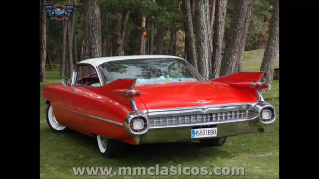 Mm Clasicos Cadillac Deville Coupe 1954 Rojo Youtube