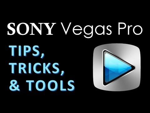 Sony Vegas Pro: Tips, Tricks, & Tools