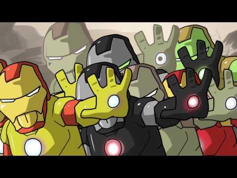 아이언맨 1분 완성 / Ironman animation / 세치혀 X 팀 유니버스 애니메이션 2화