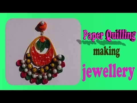 paper jewellery making,paper quilling