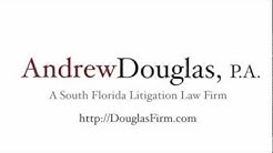 Florida Commercial Litigation Attorney | Andrew Douglas, P.A.