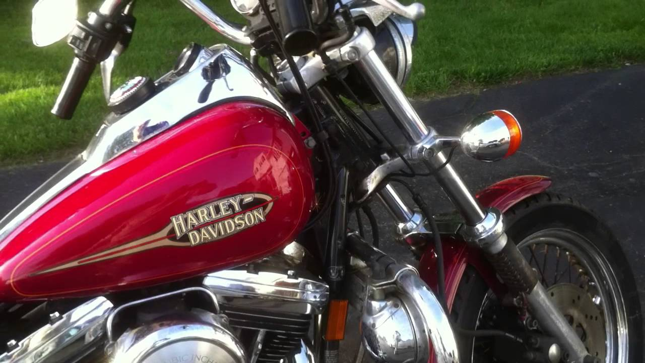 1993 Harley Davidson Fxrs Low Rider Convertible Youtube