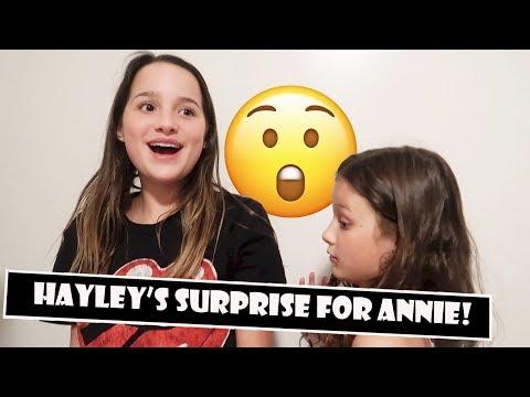 Hayley's Surprise For Annie 😲 (WK 384) | Bratayley